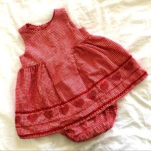 Baby Gap Dress & Bloomers 12-18M